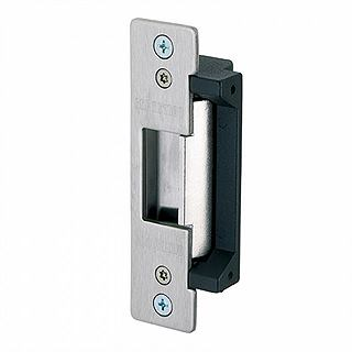 Electric strike door